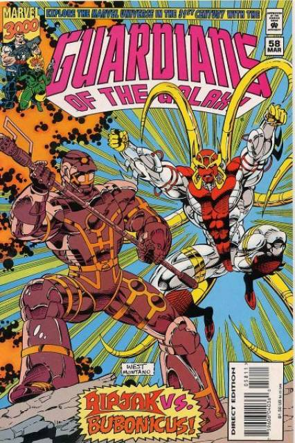 Guardians of the Galaxy (1990) no. 58 - Used