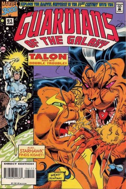Guardians of the Galaxy (1990) no. 61 - Used