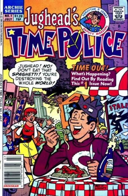 Jugheads Time Police (1990) Complete Bundle - Used