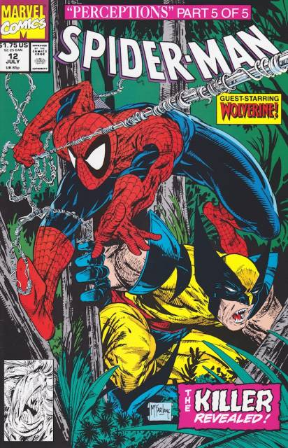 Spider-Man (1990) no. 12 - Used