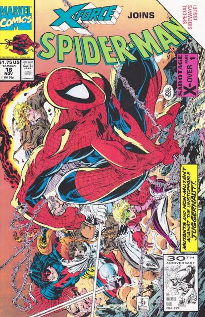 Spider-Man (1990) no. 16 - Used