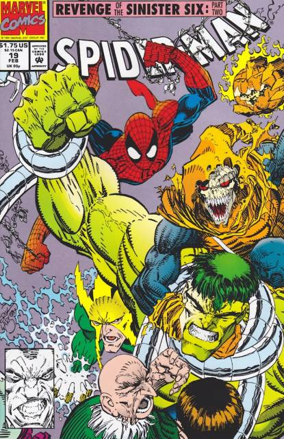 Spider-Man (1990) no. 19 - Used