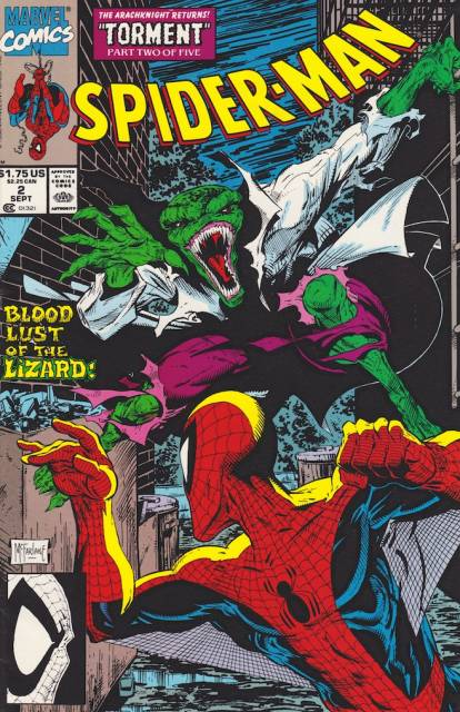 Spider-Man (1990) no. 2 - Used