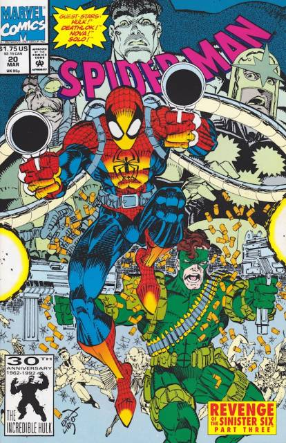 Spider-Man (1990) no. 20 - Used