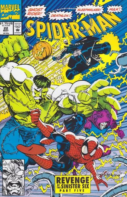 Spider-Man (1990) no. 22 - Used