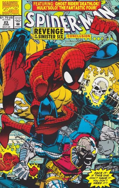 Spider-Man (1990) no. 23 - Used