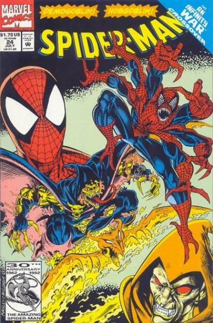 Spider-Man (1990) no. 24 - Used