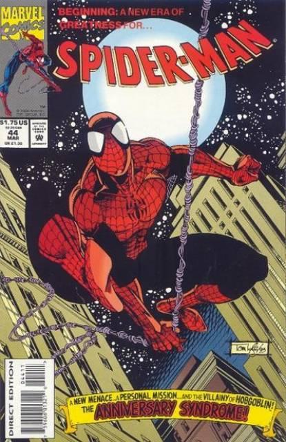Spider-Man (1990) no. 44 - Used