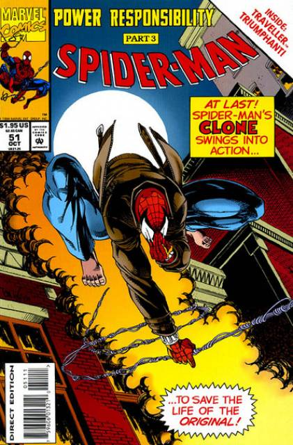 Spider-Man (1990) no. 51 - Used