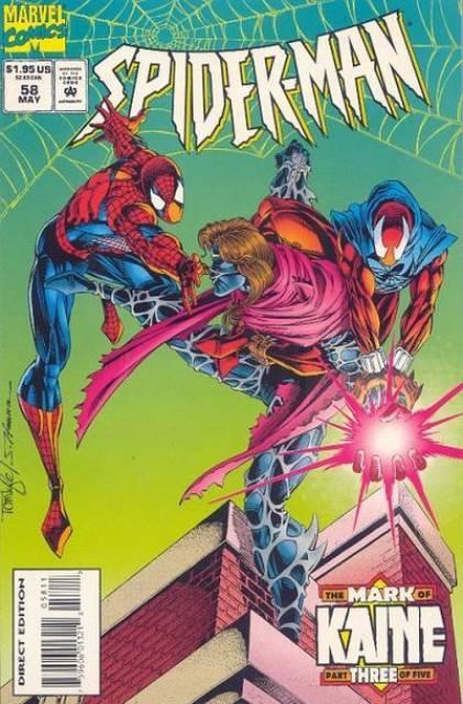 Spider-Man (1990) no. 58 - Used
