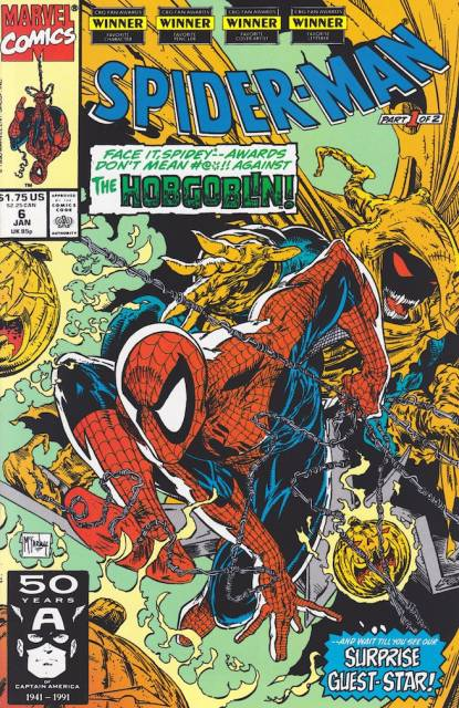 Spider-Man (1990) no. 6 - Used