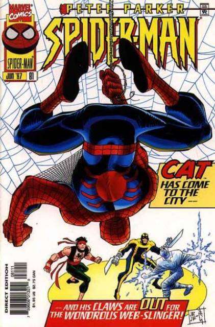 Spider-Man (1990) no. 81 - Used