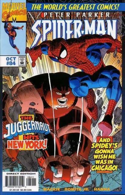 Spider-Man (1990) no. 84 - Used