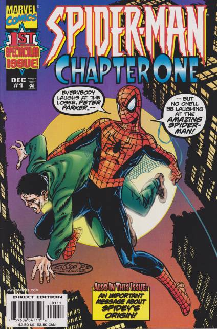 Spider-Man Chapter One (1990) Complete Bundle - Used