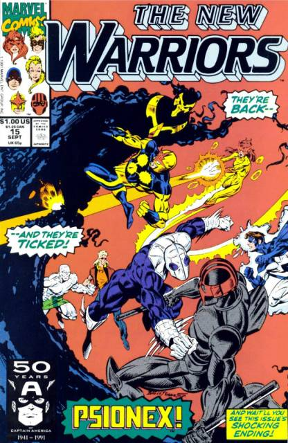 The New Warriors (1990) no. 15 - Used