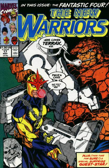 The New Warriors (1990) no. 17 - Used
