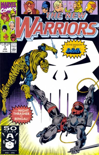 The New Warriors (1990) no. 7 - Used