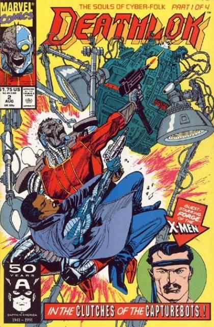 Deathlok (1991) no. 2 - Used