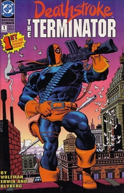 Deathstroke the Terminator (1991 Series) no. 1 - Used