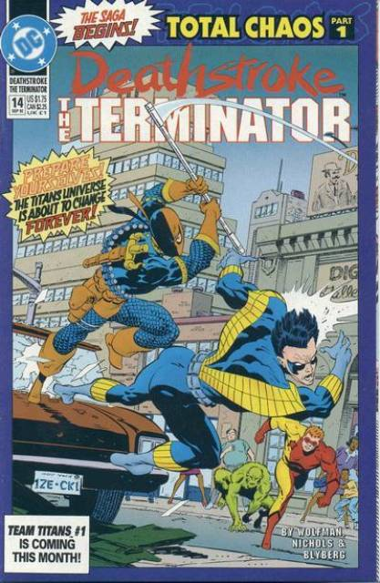 Deathstroke the Terminator (1991 Series) no. 14 - Used