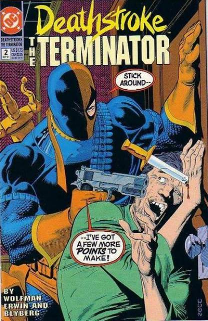 Deathstroke the Terminator (1991 Series) no. 2 - Used