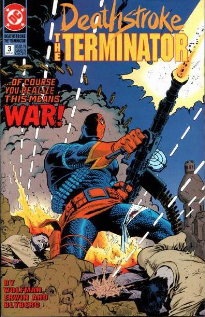 Deathstroke the Terminator (1991 Series) no. 3 - Used