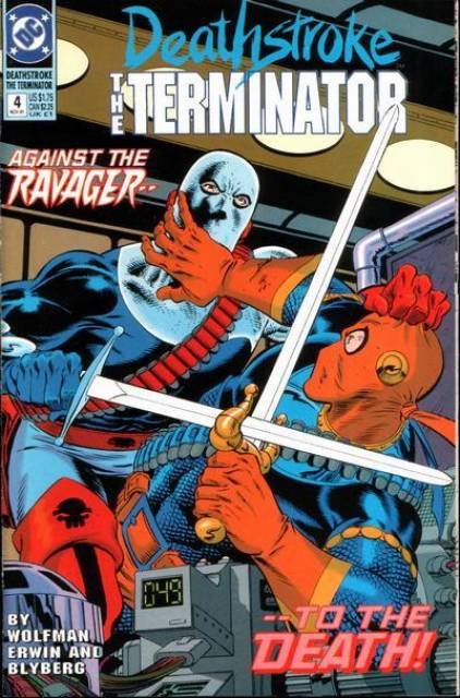 Deathstroke the Terminator (1991 Series) no. 4 - Used