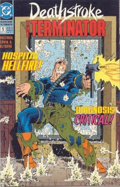 Deathstroke the Terminator (1991 Series) no. 5 - Used