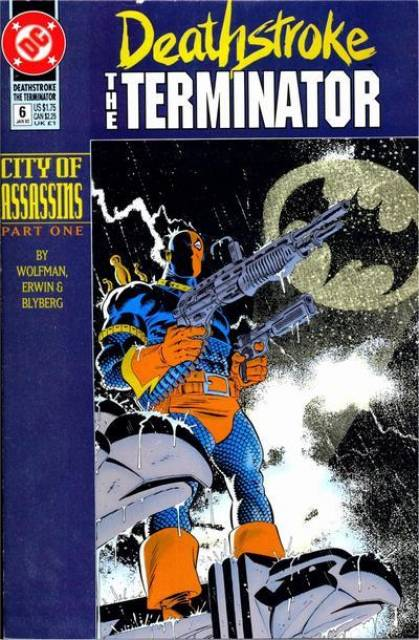 Deathstroke the Terminator (1991 Series) no. 6 - Used