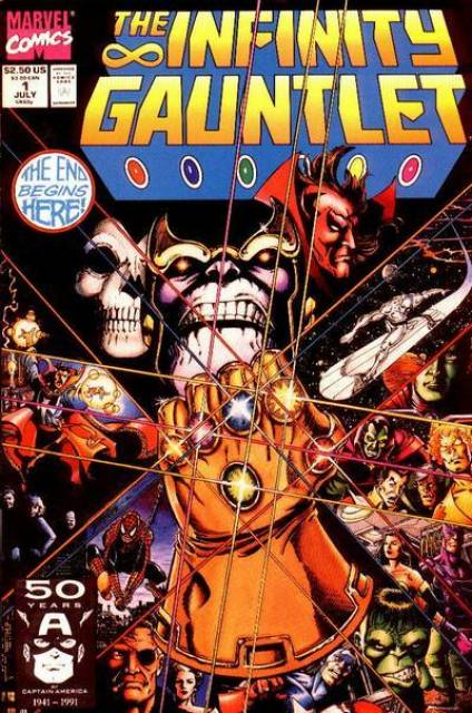 Infinity Gauntlet (1991) Complete Bundle - Used