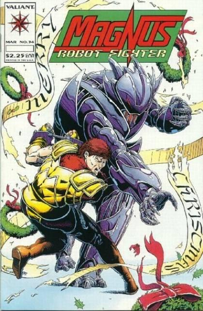 Magnus Robot Fighter (1991) no. 34 - Used