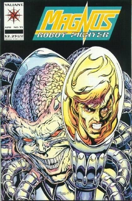 Magnus Robot Fighter (1991) no. 35 - Used