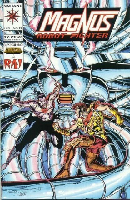 Magnus Robot Fighter (1991) no. 37 - Used
