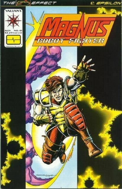 Magnus Robot Fighter (1991) no. 41 - Used