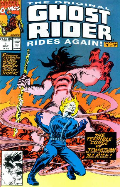 The Original Ghost Rider Rides Again (1991) Complete Bundle - Used
