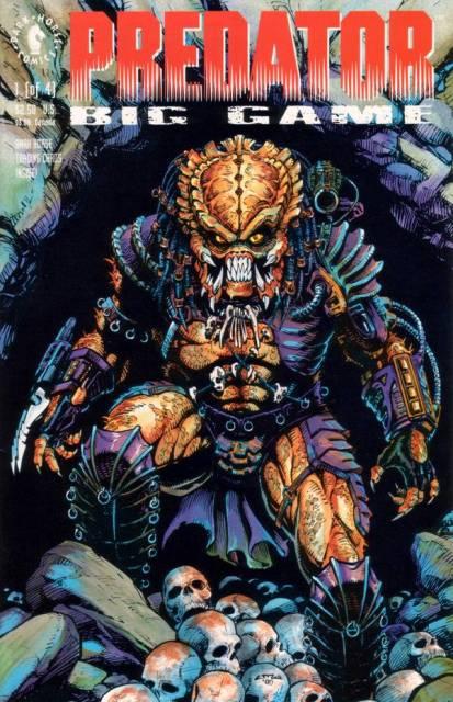 Predator: Big Game (1991) Complete Bundle - Used
