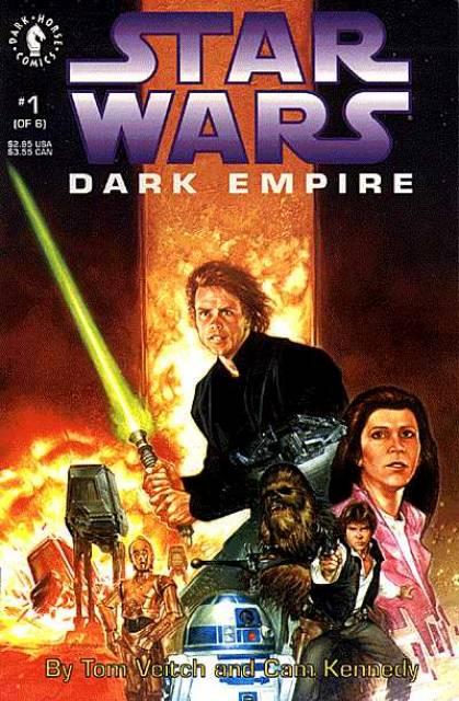 Star Wars: Dark Empire (1991) Complete Bundle - Used