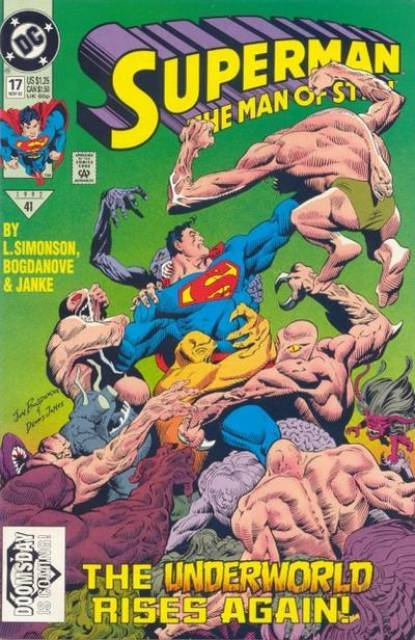 Superman: The Man of Steel (1991) no. 17 - Used