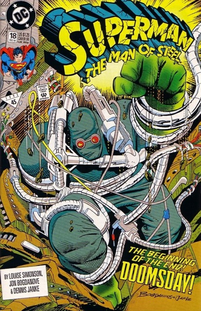 Superman: The Man of Steel (1991) no. 18 - Used