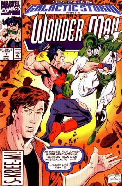 Wonder Man (1991) no. 7 - Used