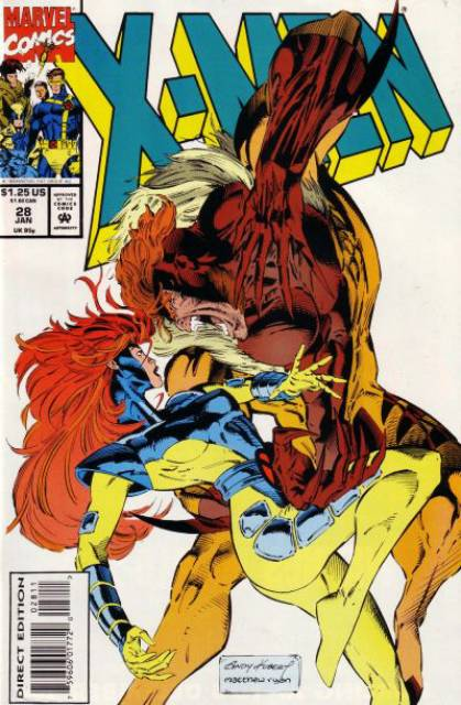 X-Men (1991) no. 28 - (Artist Signed with Dynamic Forces Certificate of Authenticity)