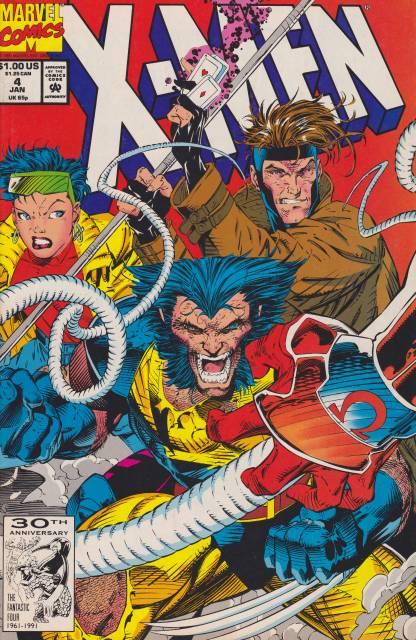 X-Men (1991) no. 4 - Used