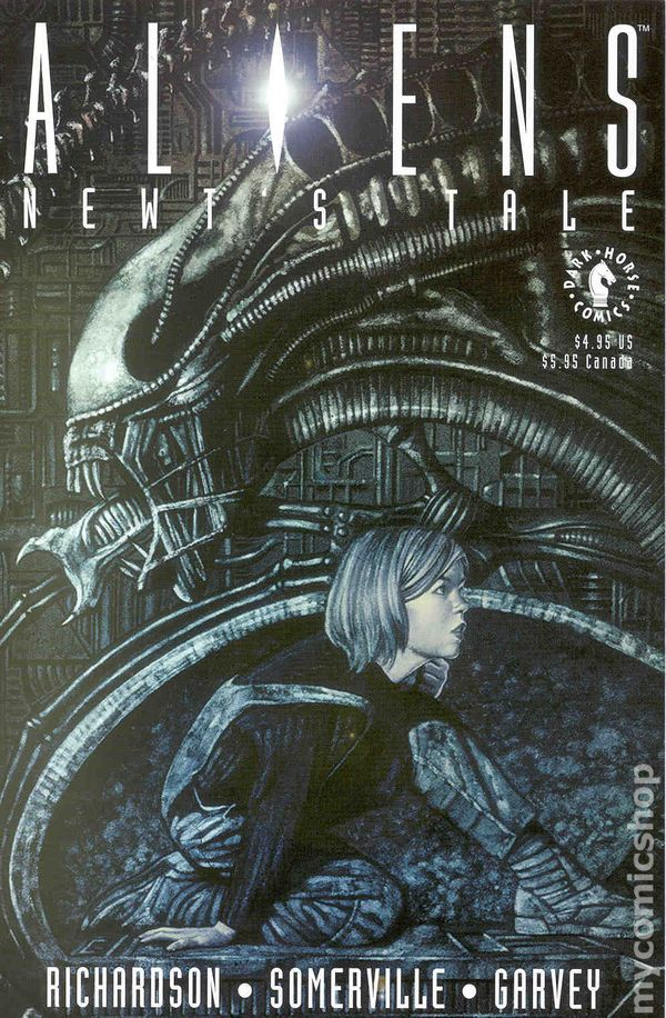 Aliens Newts Tale (1992) Complete Bundle - Used