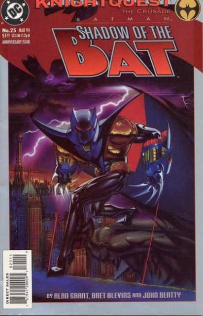 Batman: Shadow of the Bat (1992) no. 25  (Author signed with Certificate)