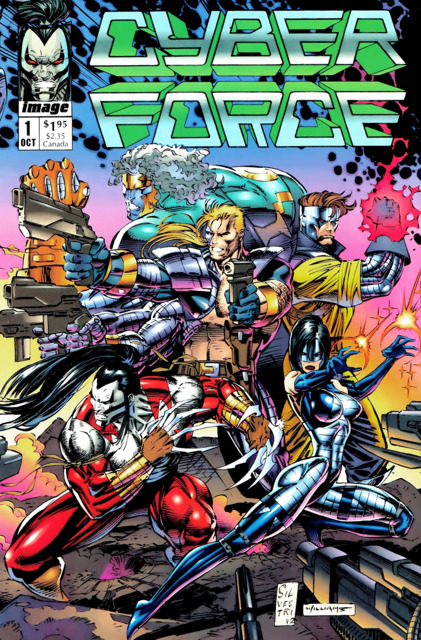 Cyberforce (1992) Complete Bundle - Used