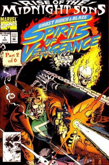 Ghost Rider Blaze: Spirits of Vengeance (1992) no. 1 - Used