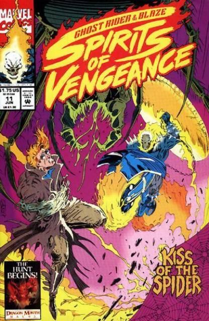 Ghost Rider Blaze: Spirits of Vengeance (1992) no. 11 - Used