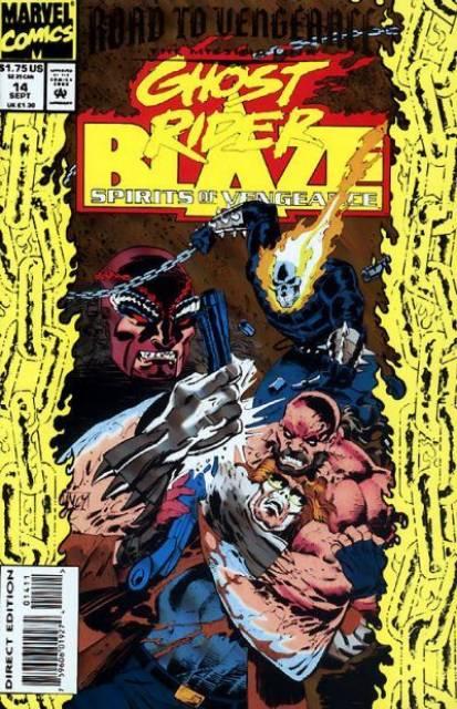 Ghost Rider Blaze: Spirits of Vengeance (1992) no. 14 - Used