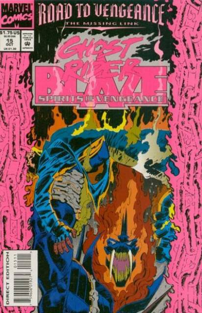 Ghost Rider Blaze: Spirits of Vengeance (1992) no. 15 - Used