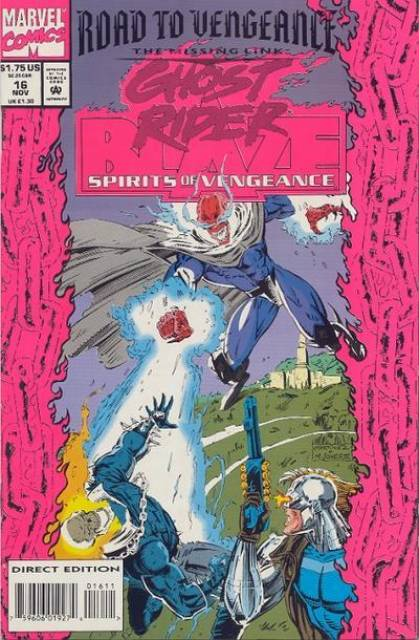 Ghost Rider Blaze: Spirits of Vengeance (1992) no. 16 - Used